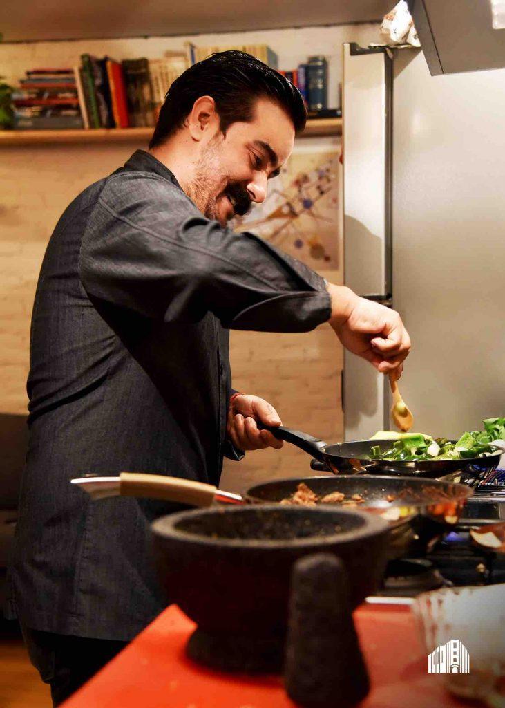 Un banquete de alta cocina mexicana con gonzalo sierra for Tecnicas de alta cocina