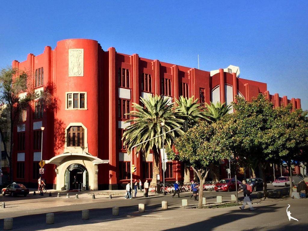 Art déco en la Tabacalera: Frontón México
