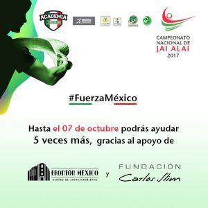 Donativo JaiAlaiXMéxico