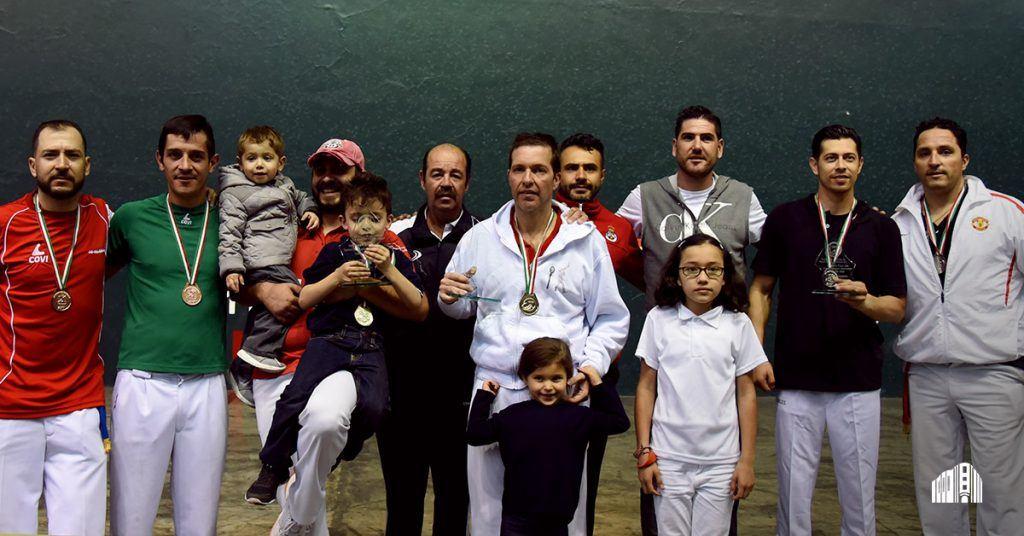 Premiación I Fase del Campeonato Nacional de Jai Alai 2017