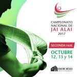 Campeonato Nacional de Jai Alai 2017: Segunda Fase