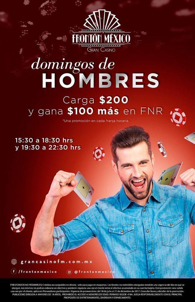Domingo de hombres en Gran Casino Frontón México