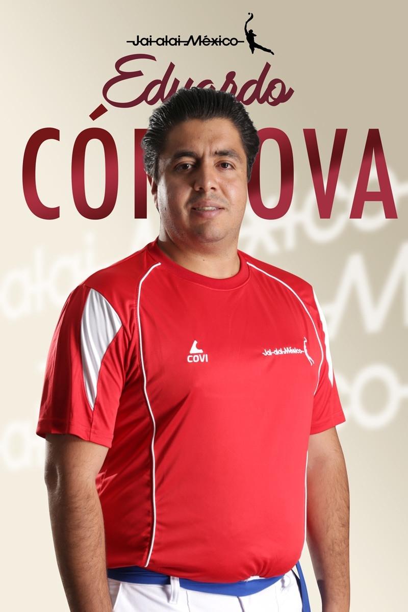 Eduardo Córdova en Jai alai México