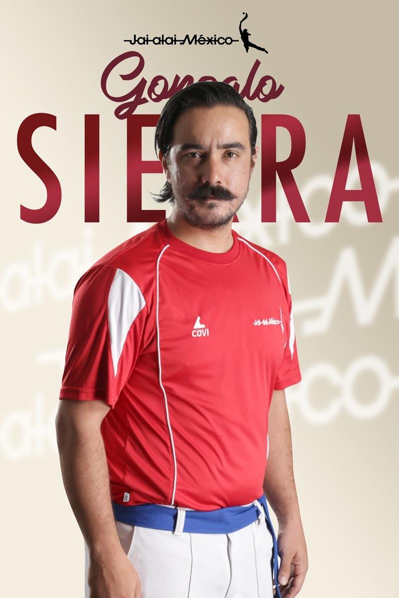 Gonzalo Sierra en Jai alai México