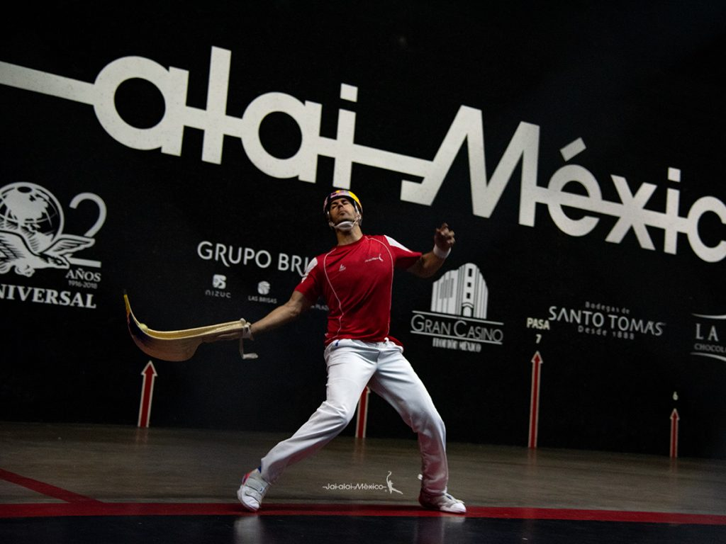 fotografía deportiva jai alai Frontón México