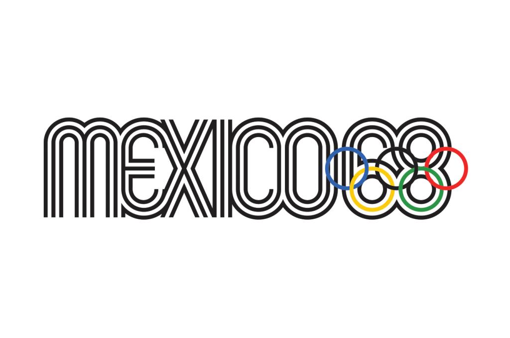 El eco del icónico diseño de México 68 —Próxima estación: jai alai