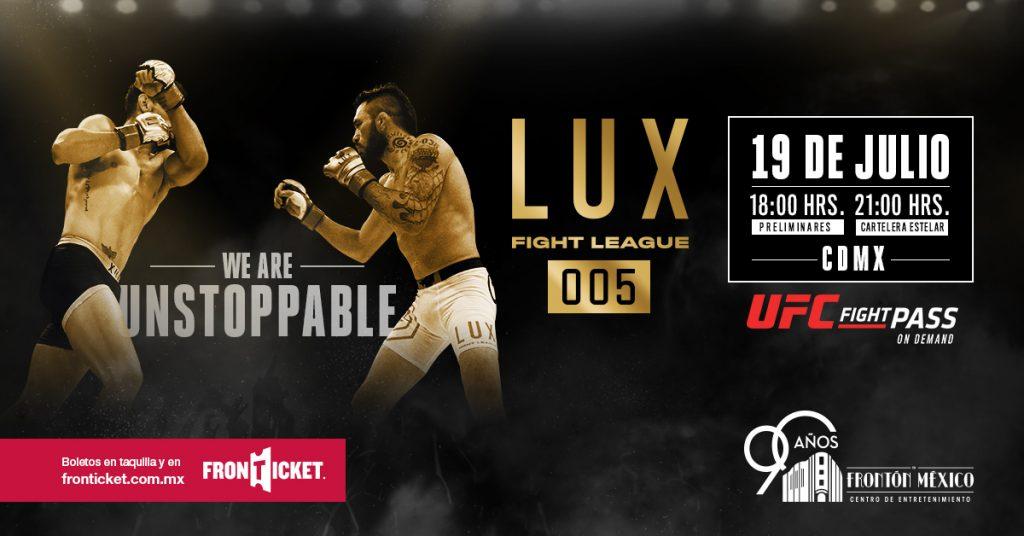 Lux Fight League 2019 _Artes marciales mixtas_Fronton Mexico