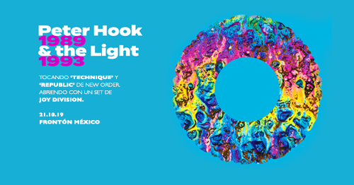 Peter Hook and The Light 2019 Frontón México