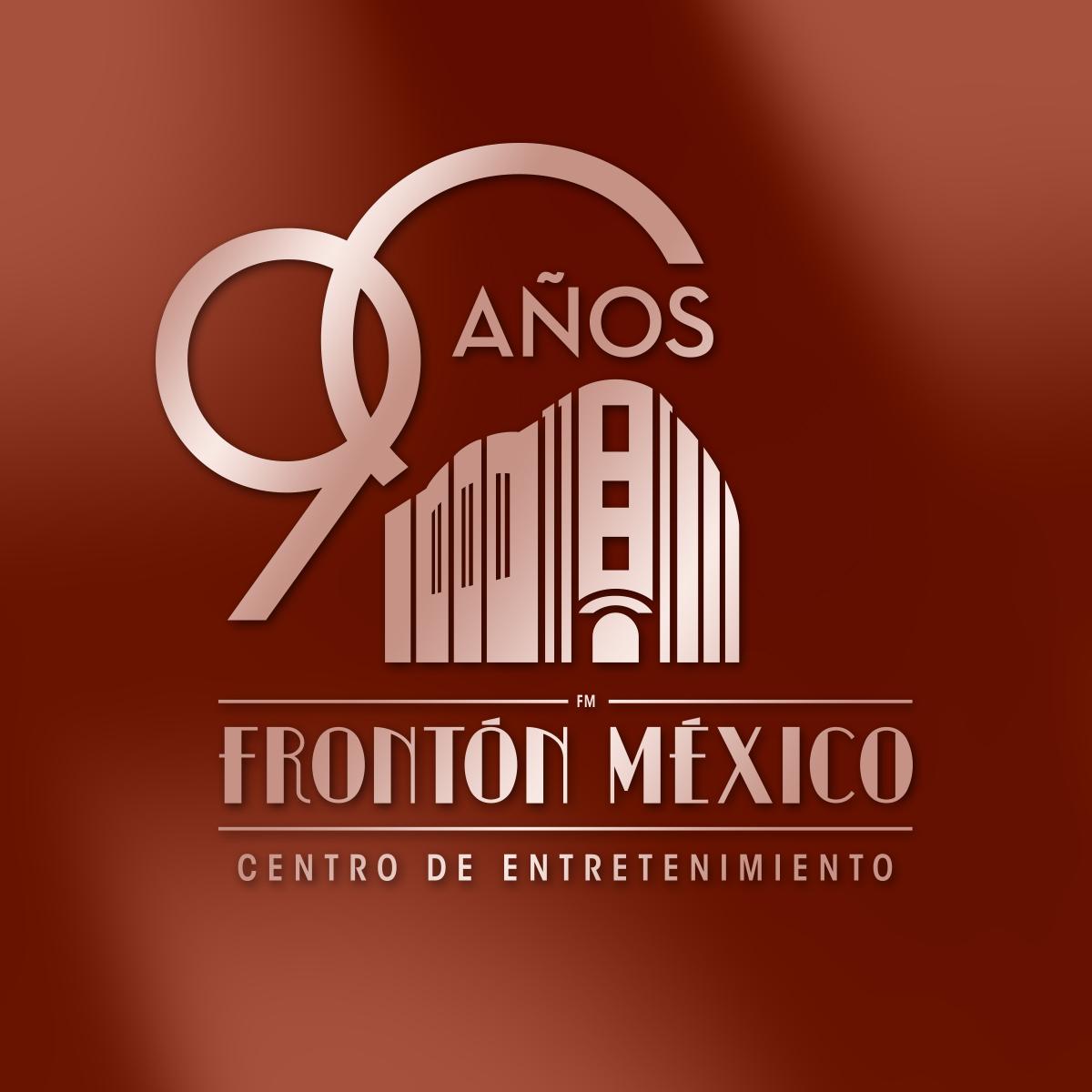 Frontón México, 90aniversario