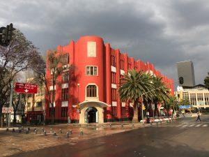 Frontón México: El grande del art déco