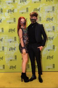La Alfombra Amarilla de los Eliot Awards 2020