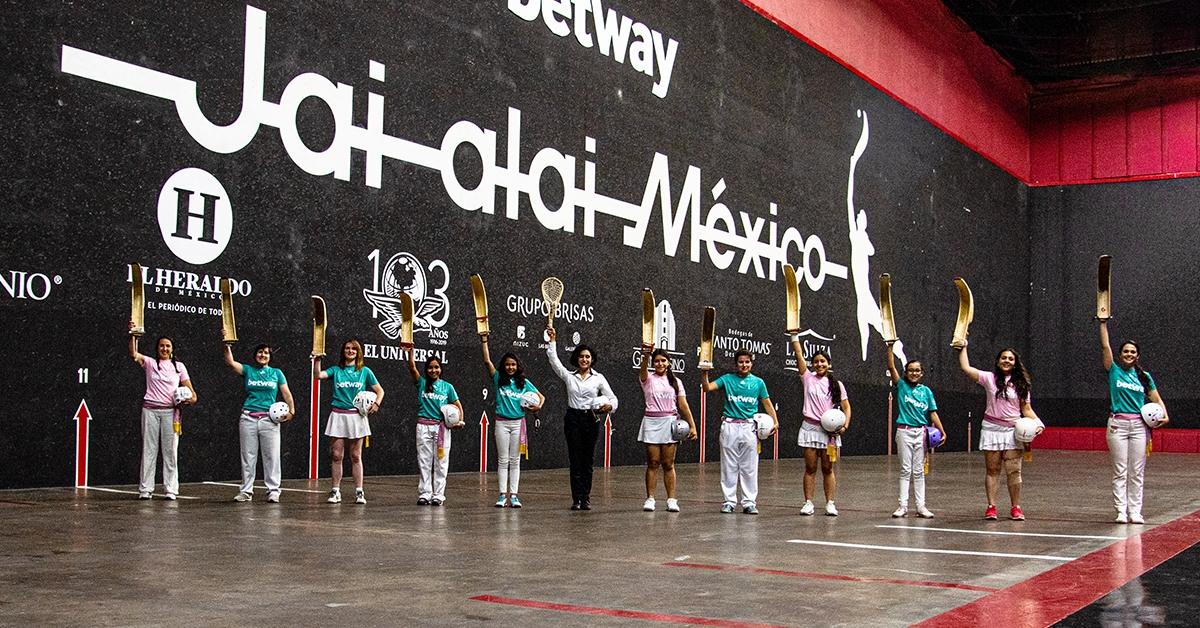 Women's Jai Alai Tour 2019, Frontón México